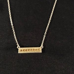Anna Beck bar necklace